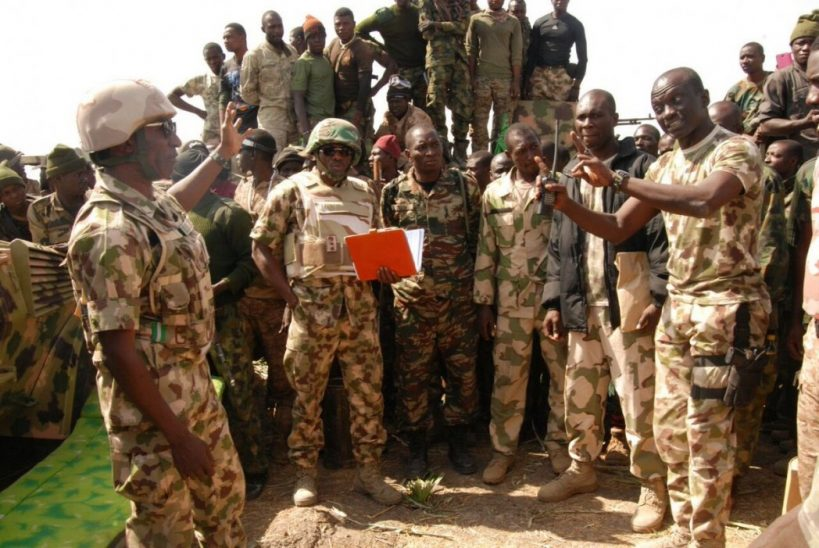 Army says calm returns after rioting Boko Haram fighters barricade airport