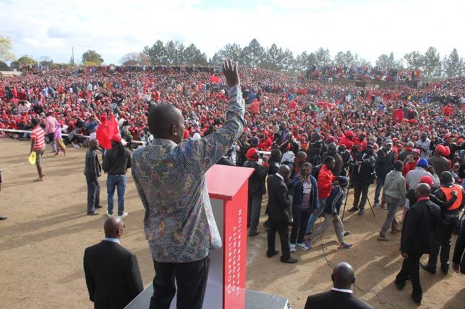 Nelson Chamisa is challenging Mnangagwa's victory in court