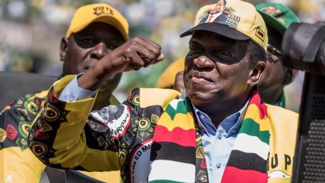 Incumbent Mnangagwa declared winner of tight election