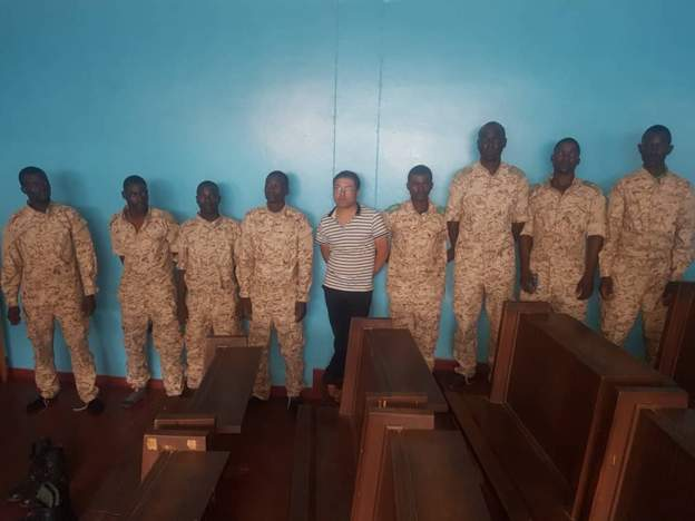 Zambia police arrest Chinese for 'illegal military training'