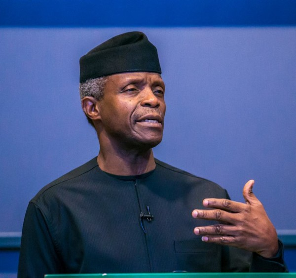 Osinbajo speaks on Nigeria's Human Capital Investments at Oxford University