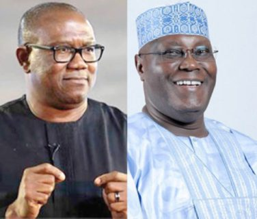 Atiku names old time ally, Peter Obi, as running mate