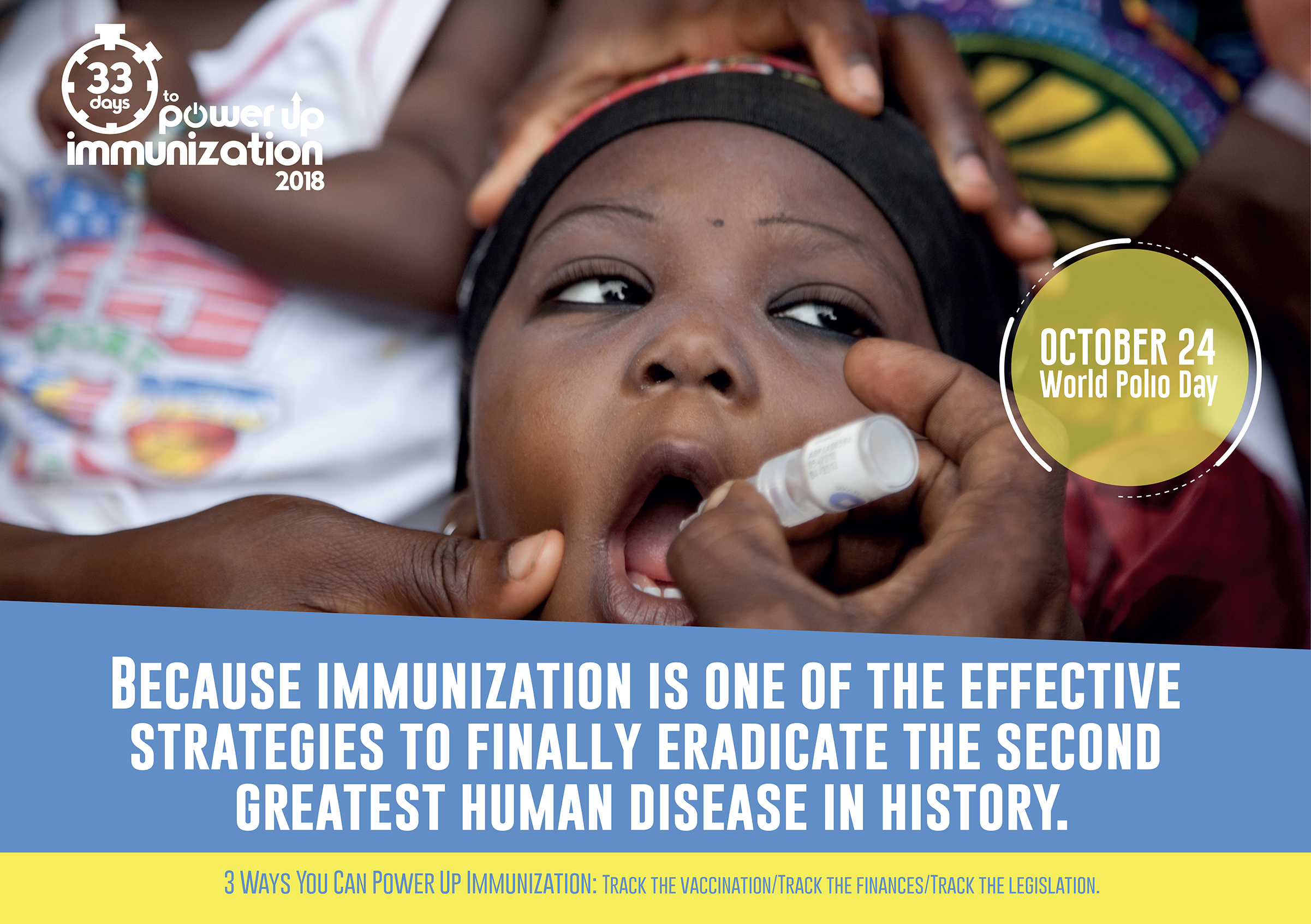 World Polio Day: Virus still endemic in Congo, Nigeria, group warns