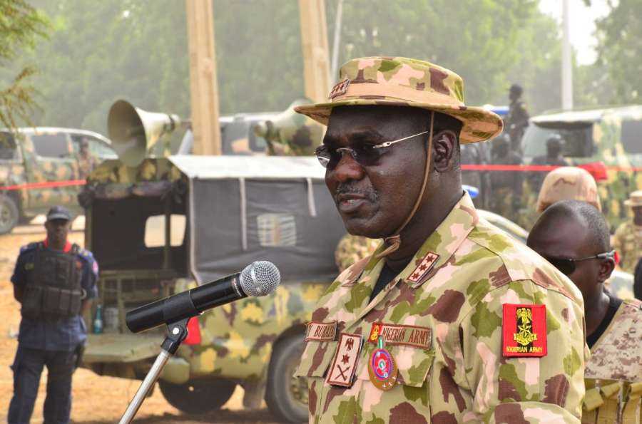 Over 44 Nigerian soldiers 'killed in Sunday camp raid'