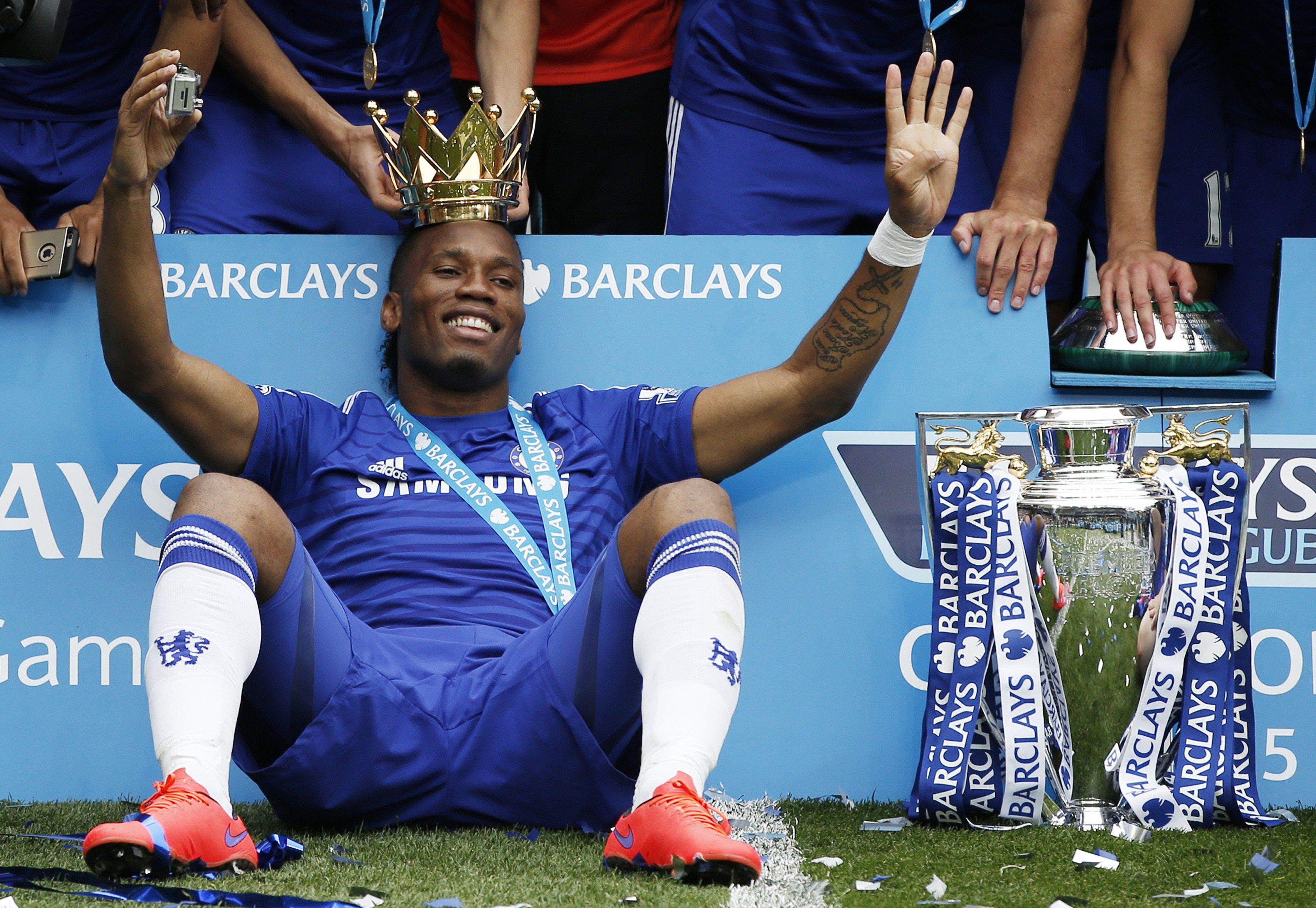 Didier Drogba, 40, retires after 20-year football career