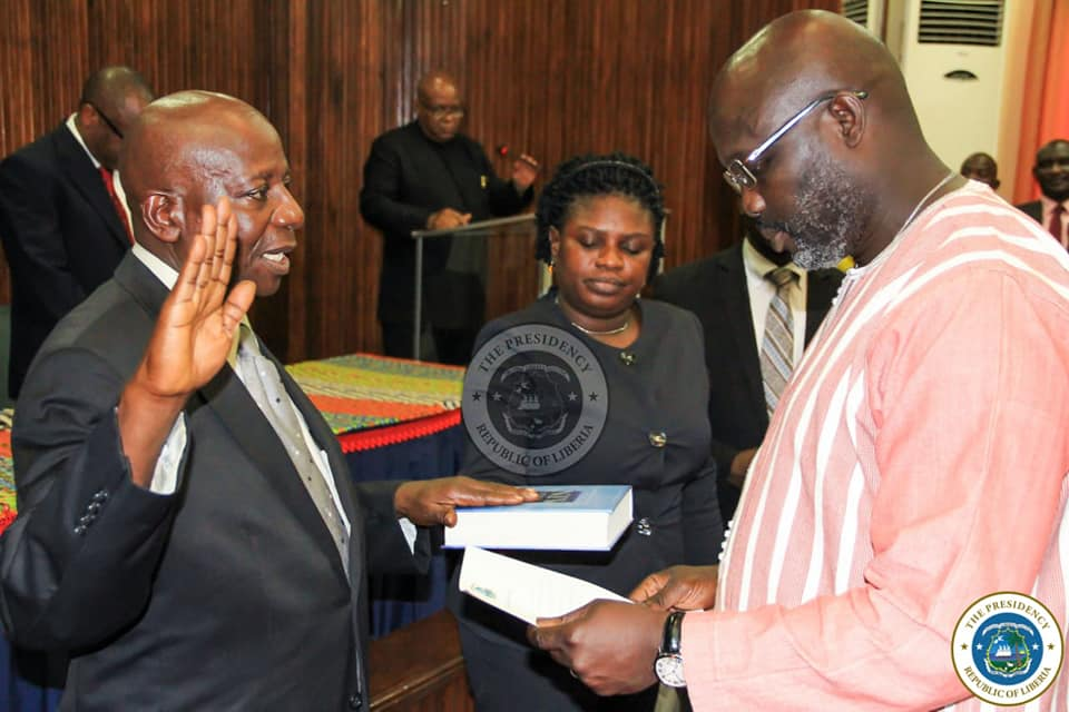 Judges must be apolitical, Weah cautions new Circuit Court Judges