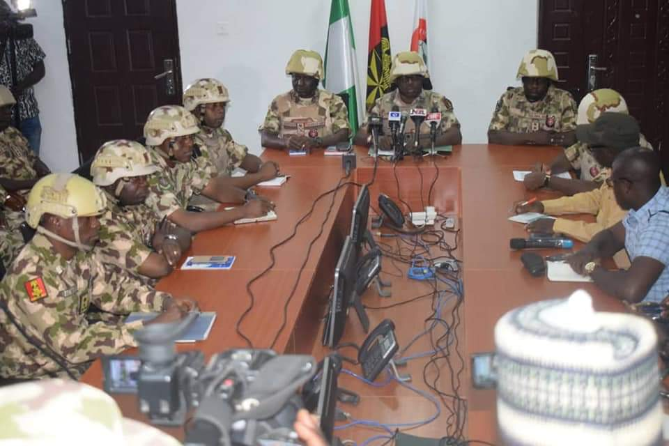 2019 election: Nigerian army launches 'Egwu Eke III' across the country