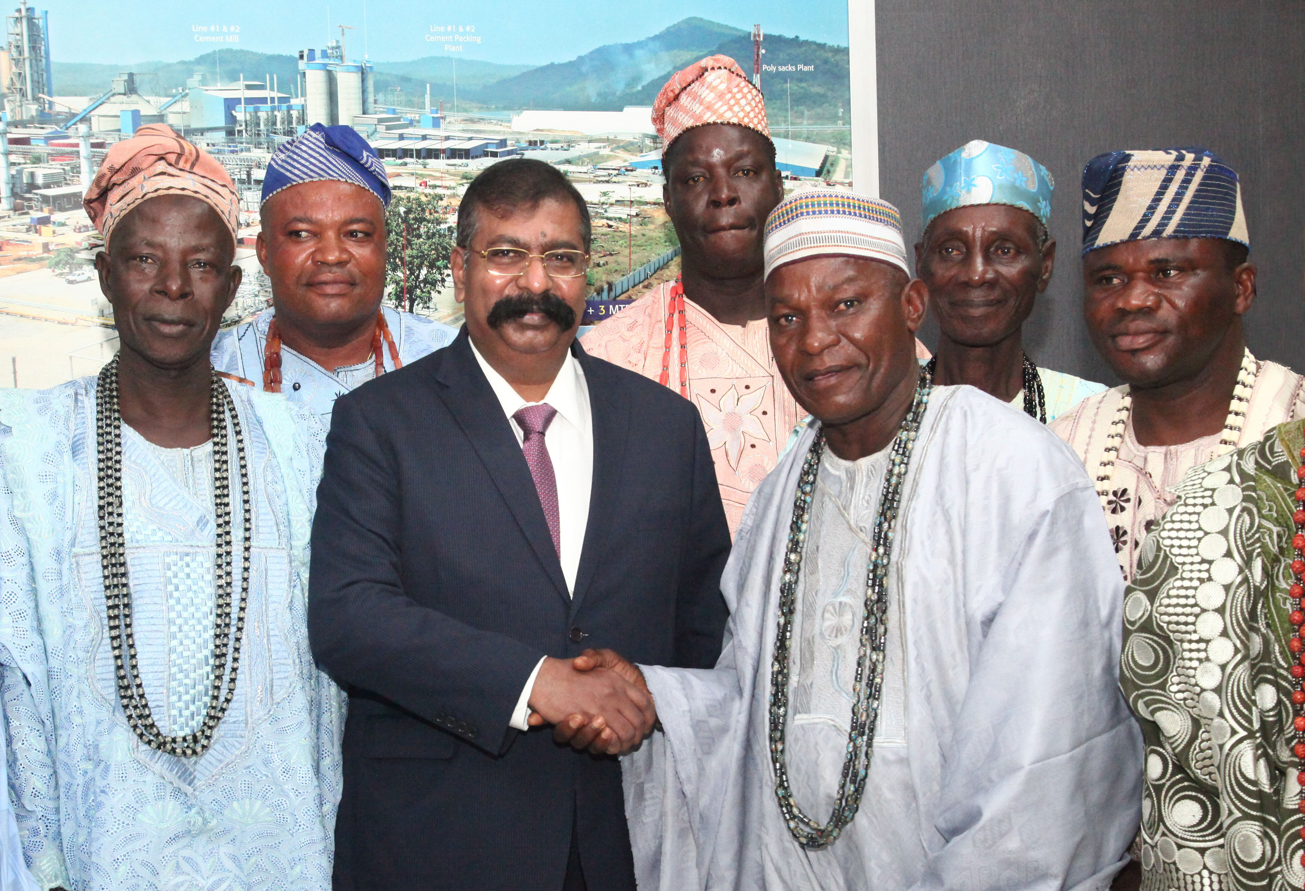 Lagos Royal Fathers commend Dangote Refinery's CSR initiatives