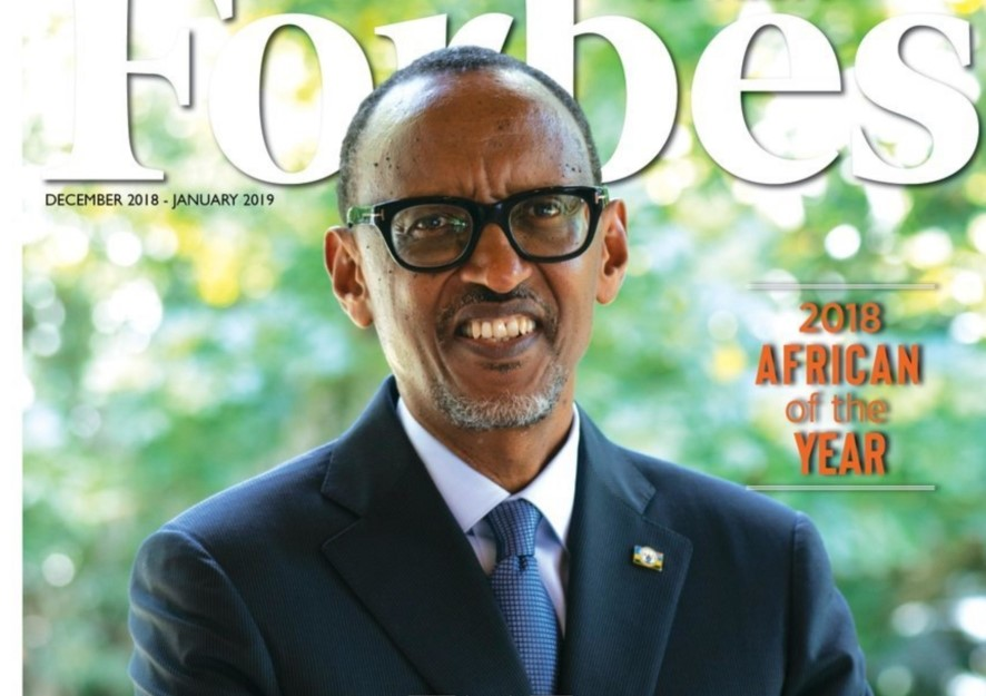 Rwanda's Kagame leads Africa on Universal Healthcare, graced by Forbes as African Man of the Year, 2018