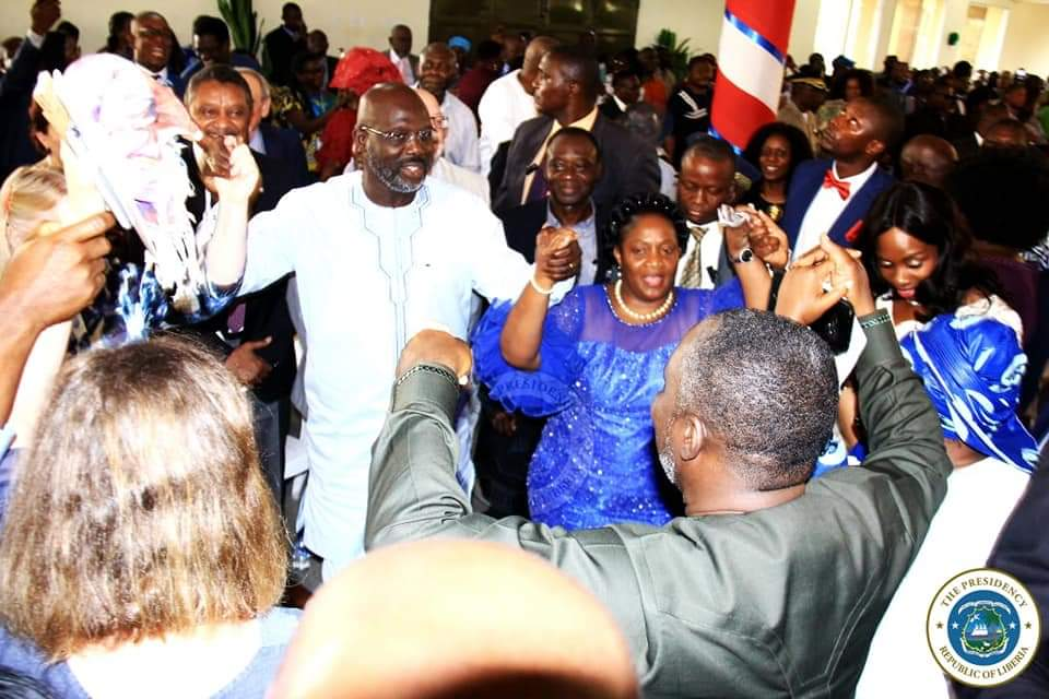 Liberia President, Weah, marks one year in office, restates support to Free Speech
