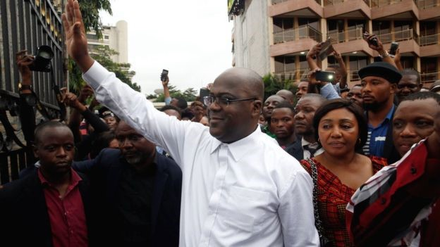 Court confirms Tshisekedi winner of DR Congo presidential election