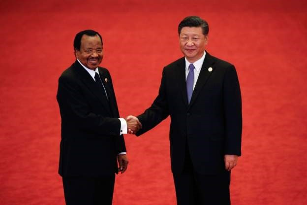 China writes off Cameroon $78m (£60m) debt