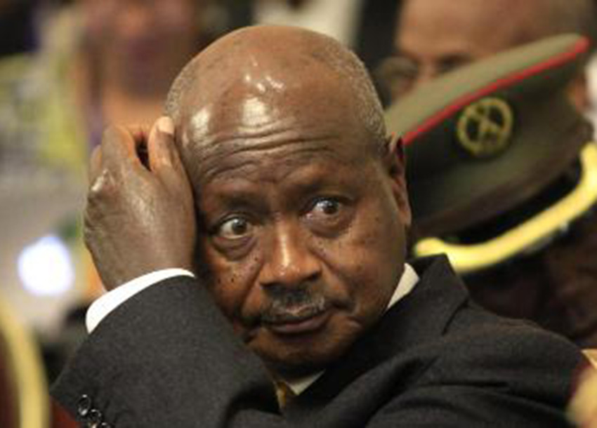 Museveni, 74, president since 1986, runs for sixth term