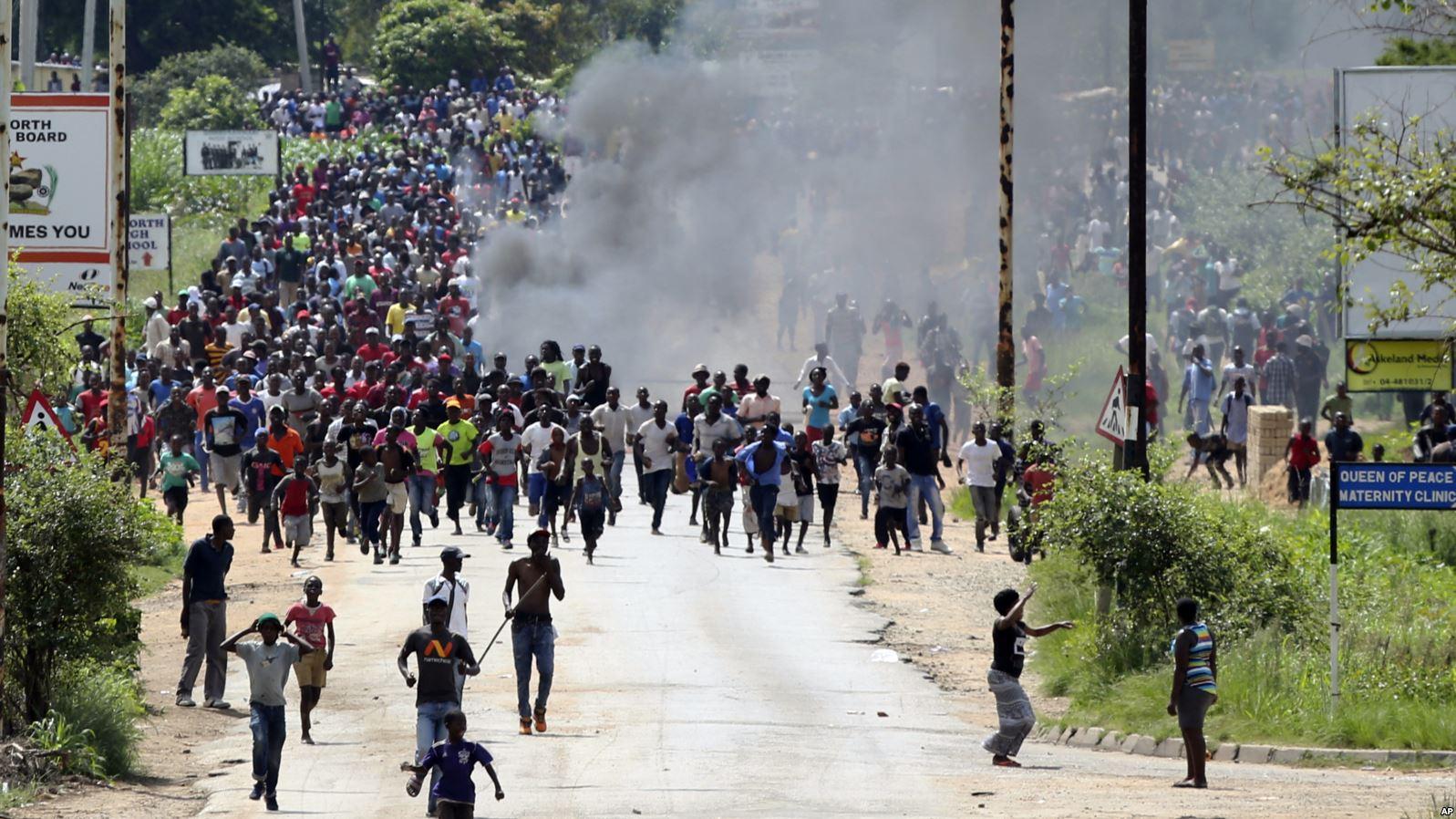 Zimbabwe President, Mnangagwa says West backing violence