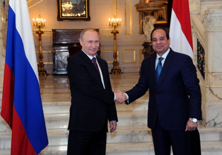Russia, Egypt tie military cooperation, sign $ 2 billion contract for fighter jets