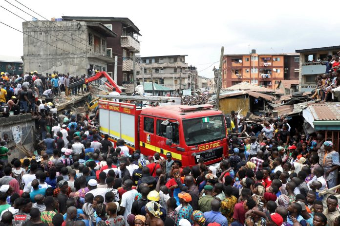 UPDATE: 20 confirmed dead in Lagos kids school collapse