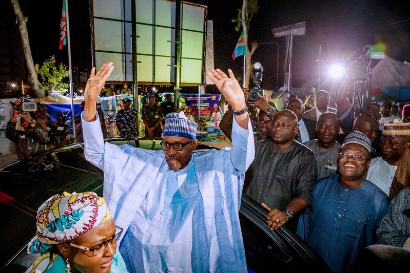 AU, world leaders congratulate Buhari as country's peace committee intervenes