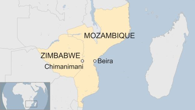 Cyclone rage in Southern Africa: Zimbabwe and Mozambique hit