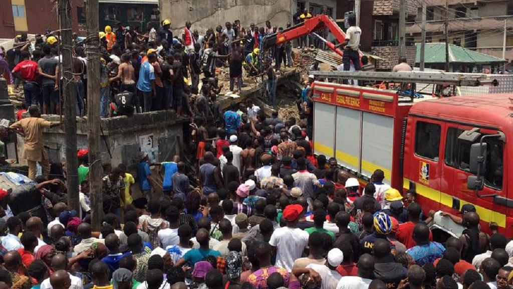 Over 100 children feared dead in Lagos school building collapse