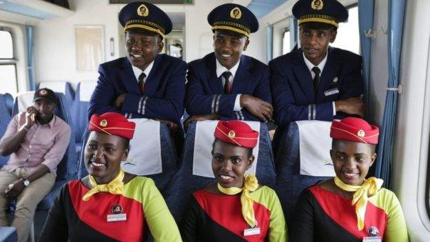 Why Uganda President's train ride in Kenya is significant