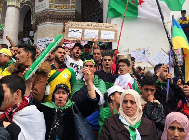Algerians want total change of structure after Bouteflika