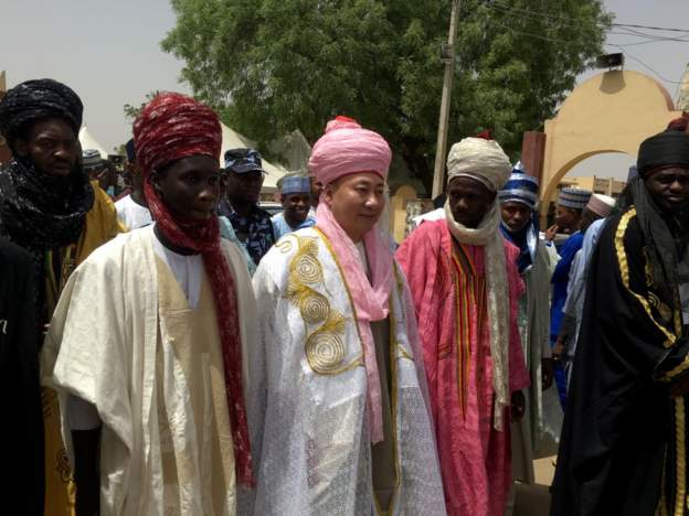 Kano emirate turbans Chinese businessman, chief