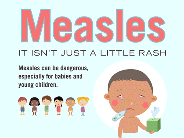 Measles cases are increasing globally, says WHO
