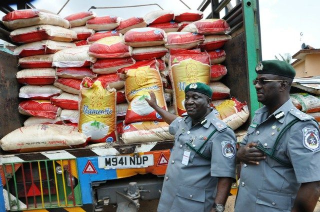 Foreign rice is the cause of colon cancer, says Nigeria Customs boss