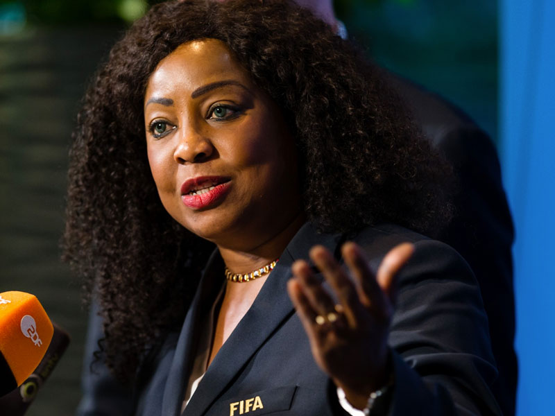 FIFA appoints Senegal's Fatma Samoura to oversee CAF