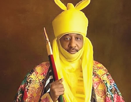 Sanusi didn't deny saying 'Nigeria will go bankrupt' if profligacy persists