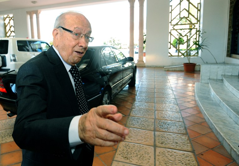 92-year old Tunisia President, Essebsi critically sick, hospitalized