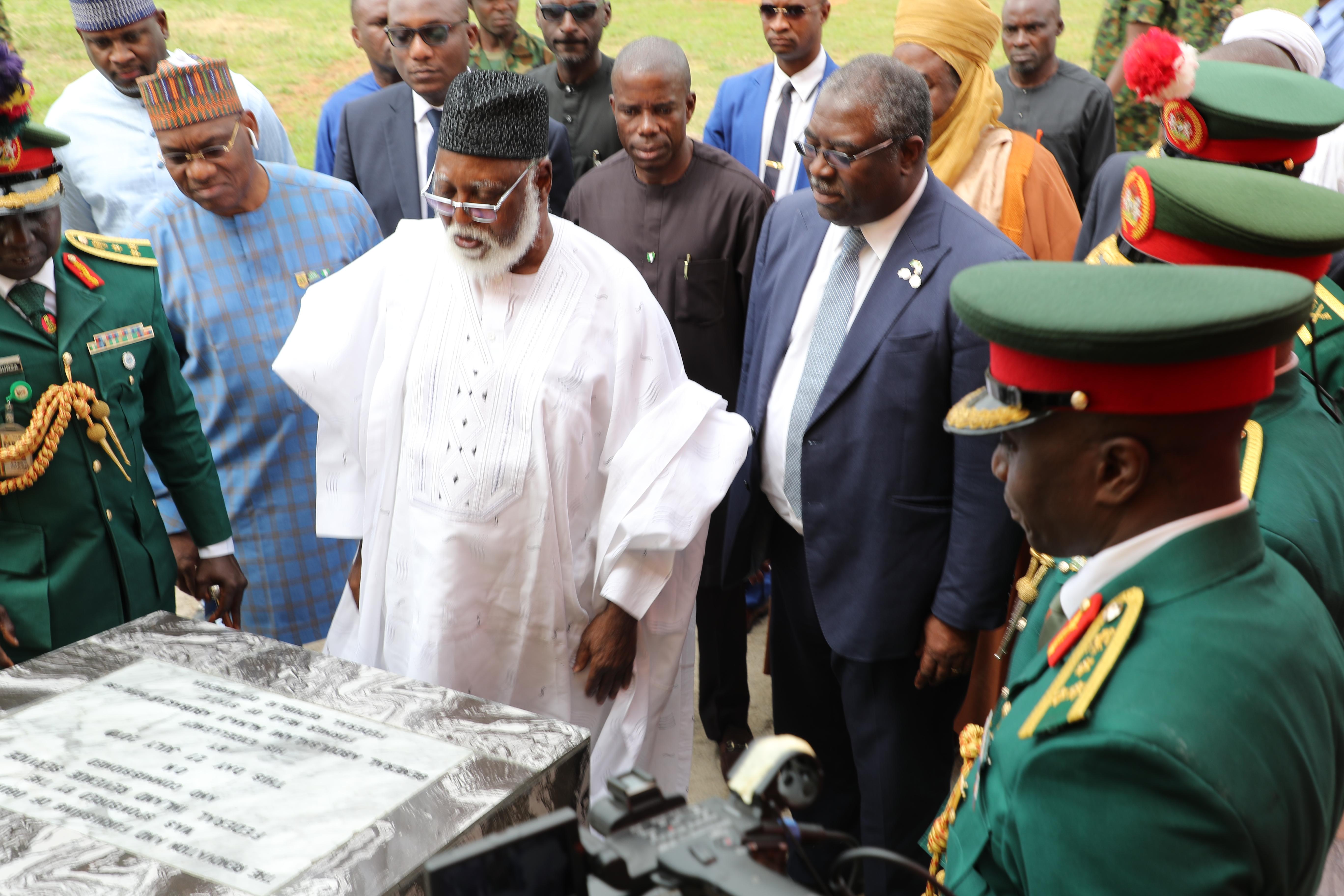 FIRS CSR draws admiration of Nigeria's former president, Abubakar