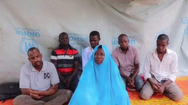 Islamic State says aid-workers in its custody, Nigeria begs for mercy