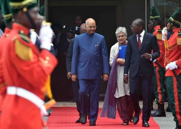 Indian president announces $100m loan for Republic of Benin