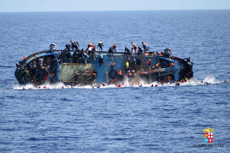 Up to 150 Migrants feared drowned in shipwreck off Libya Coast