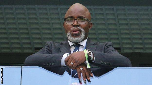 Nigeria's Amaju Pinnick is fired as Caf vice-president