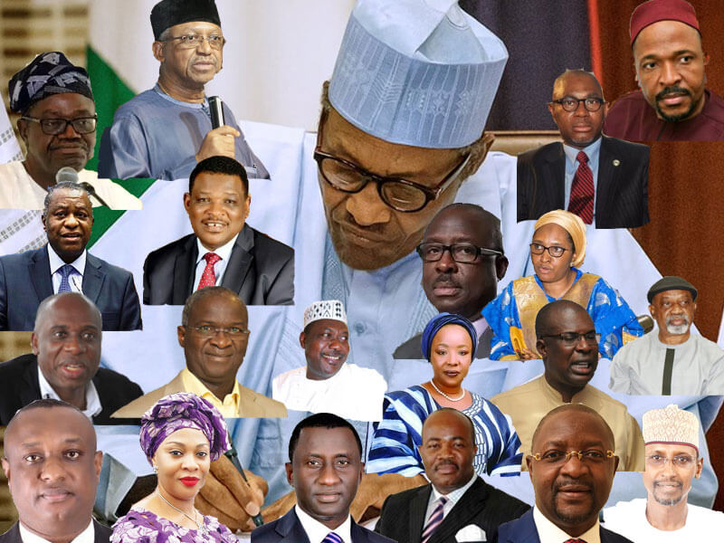Nigeria gets new ministers today, three months after inauguration