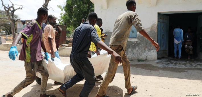 Al-Shabab group bombs military base in Southern Somalia