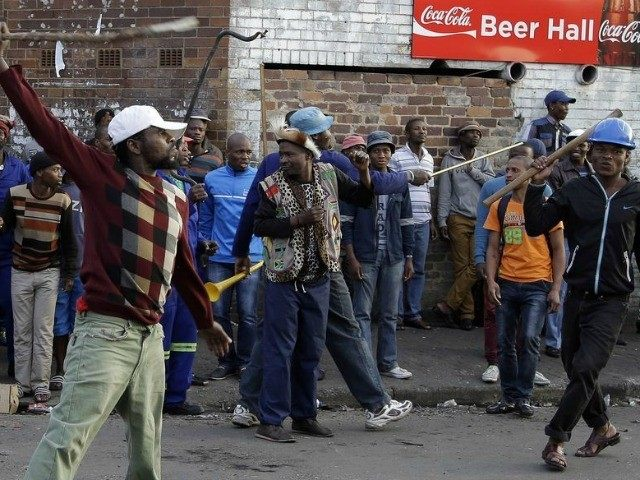 Foreigners are being arrested in South Africa