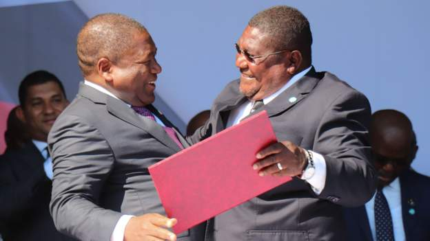 Mozambique rivals sign peace deal
