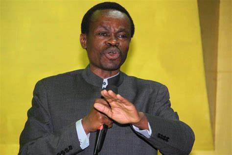 Patrick Lumumba in Nigeria on Tuesday to speak against corruption