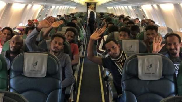 Rwanda is taking in about 500 stranded migrants from Libya