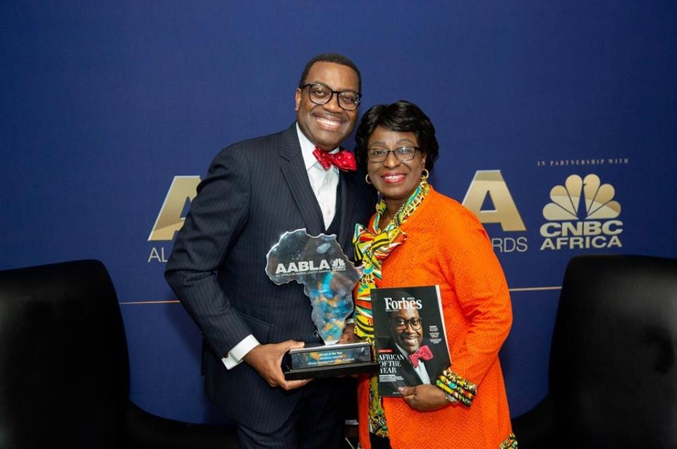 AfDB President, Adesina,  is AABLA 2019 African of the Year
