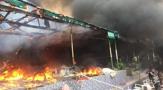 Angry youths set church ablaze in Akure, Nigerian over missing child