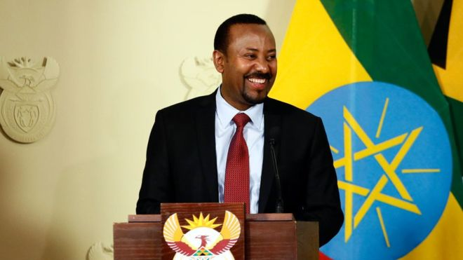 Trump envies Nobel Peace Prize Award to Ethiopia's Abiy Ahmed