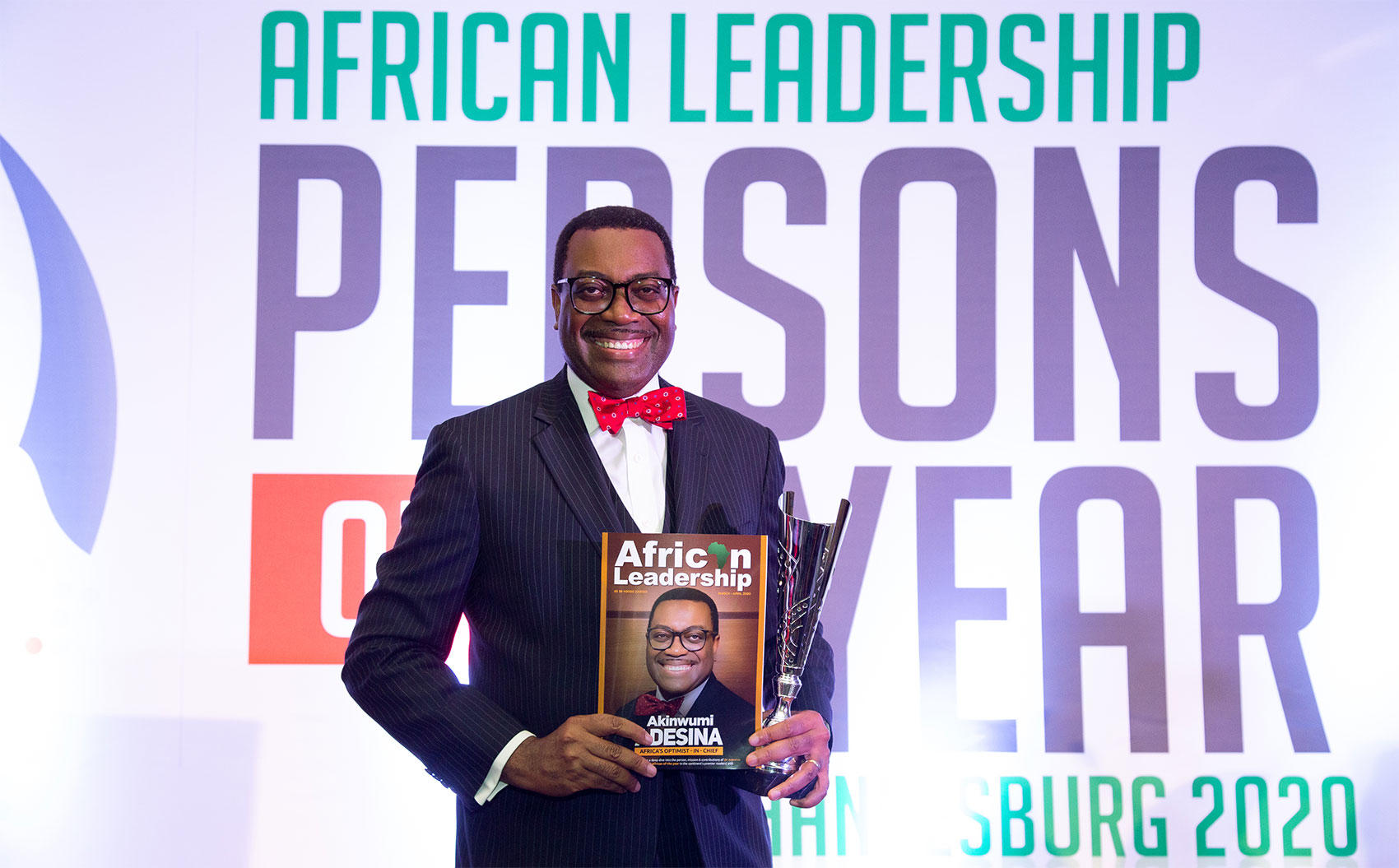 AfDB President, Adesina, Receives African of the Year Award