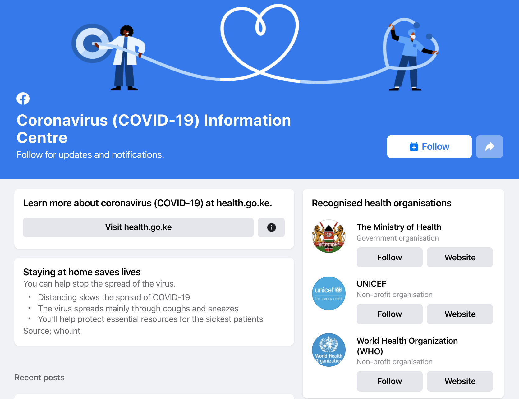 FB launches COVID-19 Information Center in 17 African countries