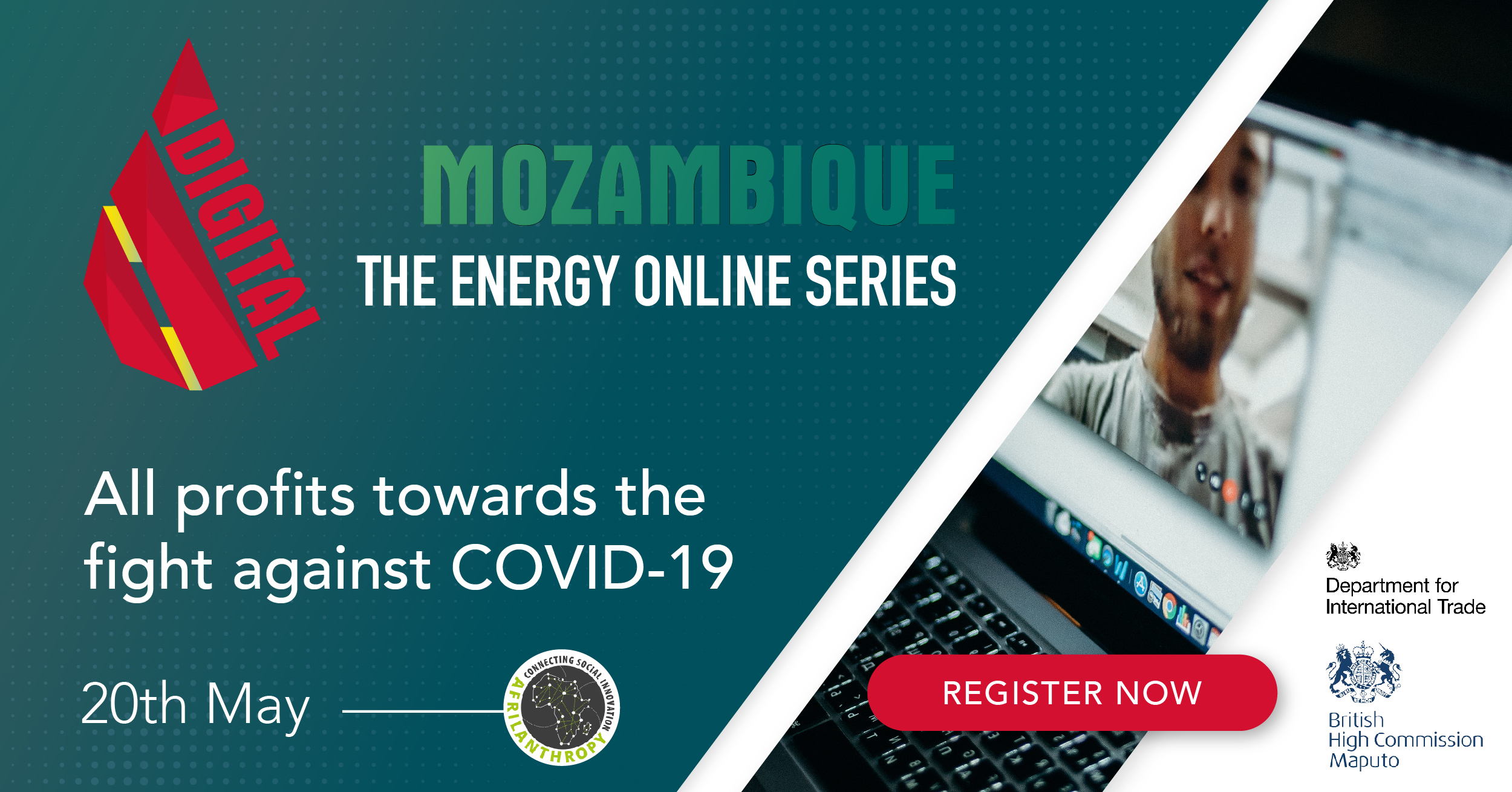 Mozambique's first charity Oil & Gas event goes live online, May 20