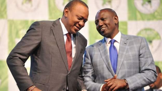 Uhuru Kenyatta removes official powers from his Deputy