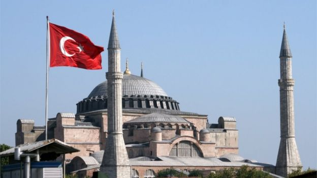 Christians Kick as Turkey Returns 1500-Year Old Cathedral into Mosque